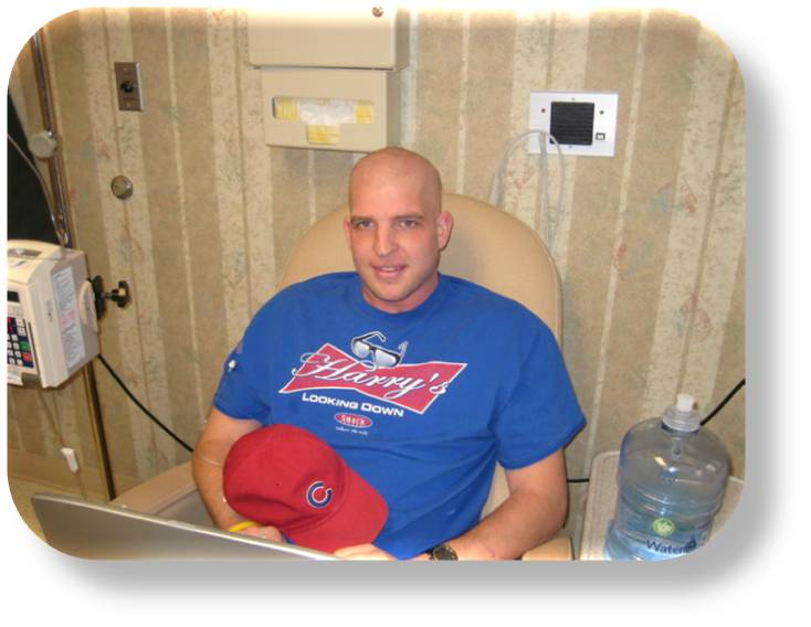 Jason Hogrefe During Chemotherapy
