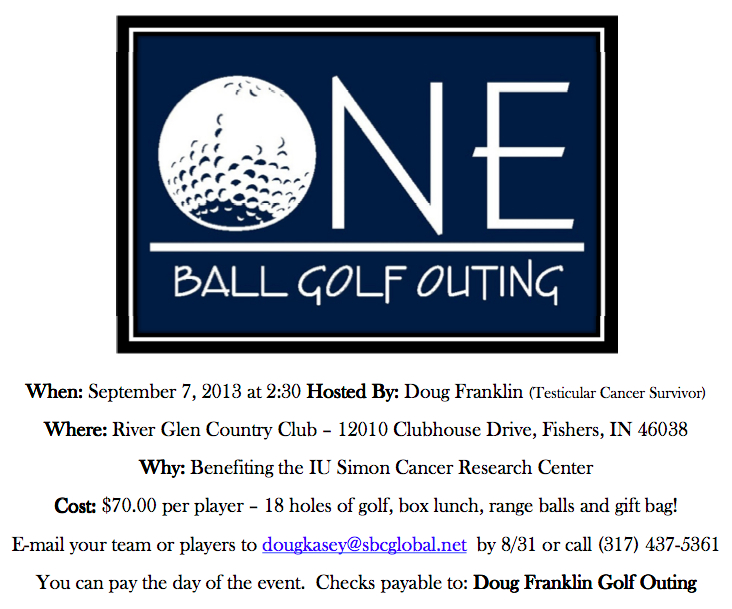 One Ball Golf Outing