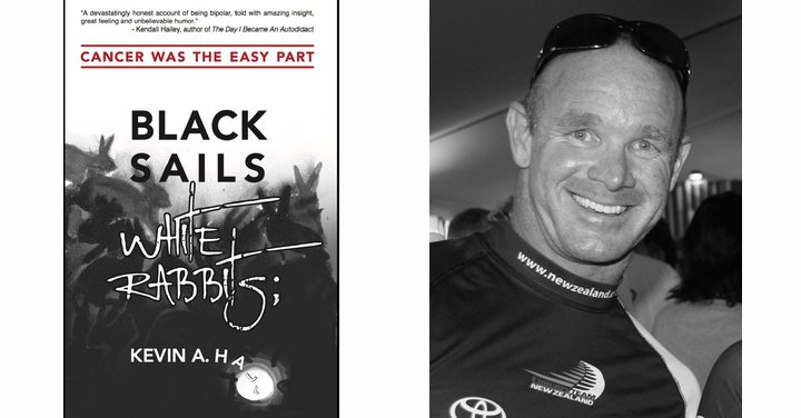 Testicular Cancer Kevin Hall's book Black Sails White Rabbits