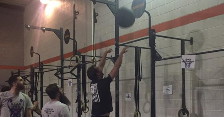 CrossFit Impervious Balls for Balls workout number 3