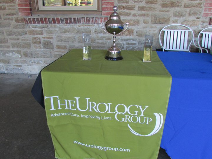 Testicular Cancer Society Golf Outing Trophy